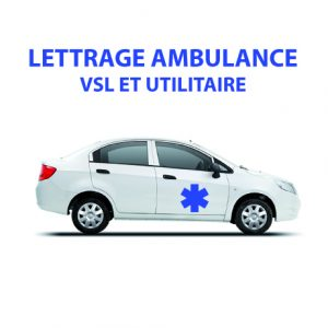 1 Marquage Ambulance